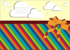 postal ilustración del vector