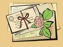 postal Fotografía de archivo