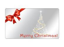 Postal abstracta de los globos de la Navidad - giftcards Fotografía de archivo