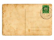 Postal alemana del Reich imagen de archivo