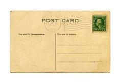 Postal antigua Foto de archivo