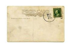 Postal antigua Fotografía de archivo libre de regalías