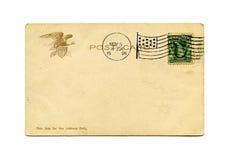 Postal antigua Imagenes de archivo