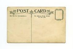 Postal antigua Imágenes de archivo libres de regalías