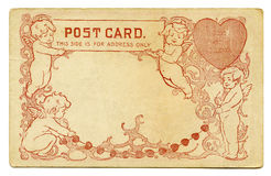 Postal antigua Imagen de archivo libre de regalías