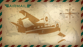 Postal background. Vector illustration. Postal air mail background. Vector illustration. Clip art vector illustration