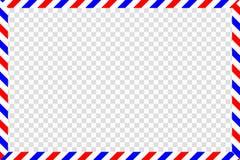 Postal background. Vector stock illustration