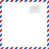 Postal background. Vector illustration Royalty Free Stock Photos