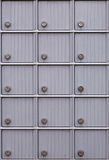 Postal Boxes Royalty Free Stock Images