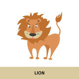 Postal con un personaje de dibujos animados Fotos de archivo libres de regalías