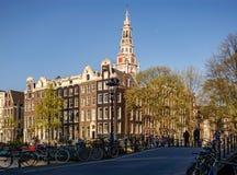 Postal de Amsterdam fotografía de archivo libre de regalías