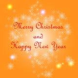 Postal de la Feliz Navidad Imágenes de archivo libres de regalías