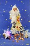 Postal de la foto del ` s del Año Nuevo Imágenes de archivo libres de regalías