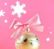 Postal de la Navidad Foto de archivo libre de regalías