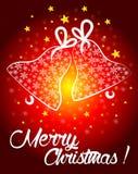 Postal de la Navidad Imagenes de archivo