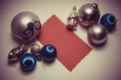 Postal de la Navidad imagen de archivo