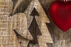 Postal de la Navidad Fotos de archivo