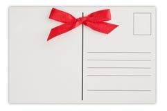 Postal de la Navidad Fotografía de archivo