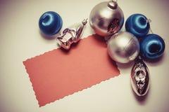 Postal de la Navidad imagen de archivo libre de regalías