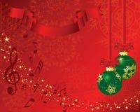 Postal de la Navidad stock de ilustración