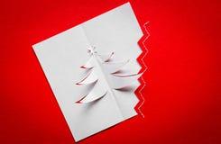 Postal de la Navidad del vintage Imagen de archivo