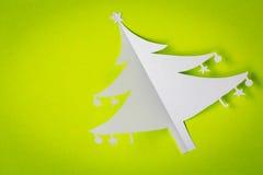 Postal de la Navidad del vintage Fotografía de archivo libre de regalías
