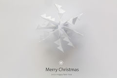 Postal de la Navidad del vintage Imagen de archivo libre de regalías
