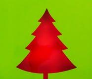 Postal de la Navidad del vintage Foto de archivo libre de regalías