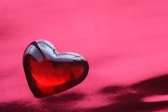Postal de la tarjeta del día de San Valentín Imagenes de archivo