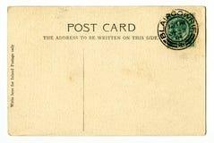 Postal de la vendimia Fotografía de archivo libre de regalías