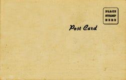 postal de los años 50, tono de la sepia Fotografía de archivo libre de regalías