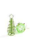 Postal de los saludos de la Navidad Imagen de archivo libre de regalías