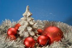Postal de Navidad Imágenes de archivo libres de regalías