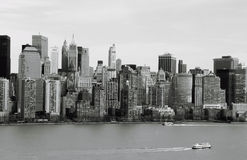 Postal de Nueva York Fotografía de archivo