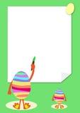 Postal de Pascua Imagenes de archivo