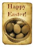 Postal de Pascua fotografía de archivo