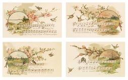 Postal de Pascua del vintage Sistema 1