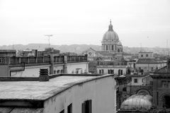 Postal de Roma Foto de archivo libre de regalías