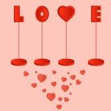 Postal de Valentine Day Libre Illustration
