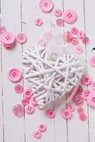 Postal de Valentine Day Imagen de archivo