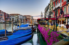 Postal de Venecia Fotografía de archivo libre de regalías