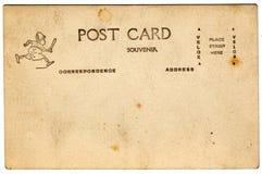 Postal del brownie del recuerdo Imagen de archivo