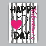 Postal del día de tarjeta del día de San Valentín blanca