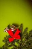 Postal del deseo del Año Nuevo imágenes de archivo libres de regalías