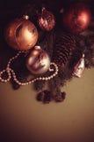 Postal del deseo del Año Nuevo fotografía de archivo libre de regalías