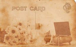 Postal del estilo de la vendimia Imágenes de archivo libres de regalías