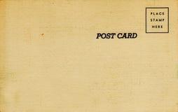 postal del lino de los años 40 Foto de archivo libre de regalías