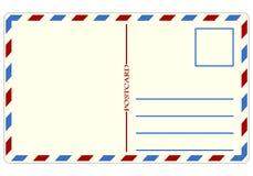 Postal del viaje - ejemplo Imagen de archivo libre de regalías