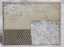 Postal del vintage Foto de archivo libre de regalías