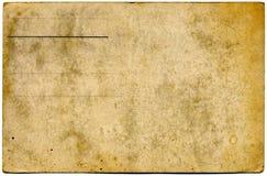 Postal en blanco de la vendimia Foto de archivo libre de regalías